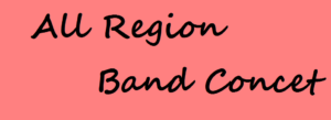 all region band concert