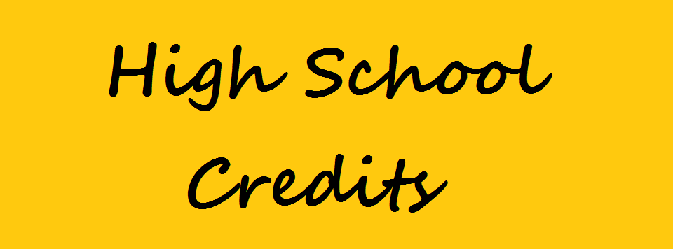 high school credits